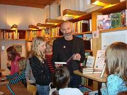 Petrus Dahlin på Vaxholms bibliotek!