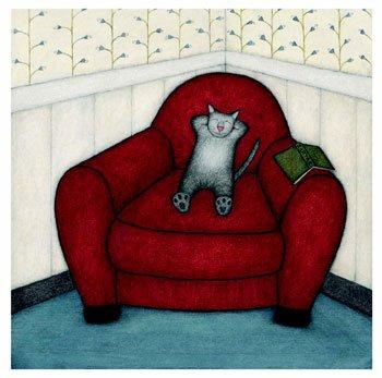 Böcker för katten!