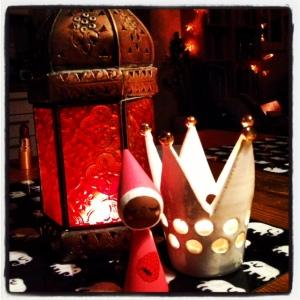 Julhallon i det Flaskpostska Johanna-hemmet, tack för julklappen forna Flaskpostmedlemmen Ka!
