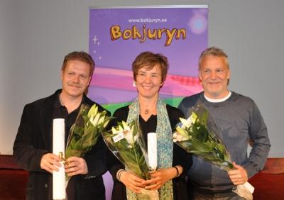 Vinnare i Bokjuryn 2012